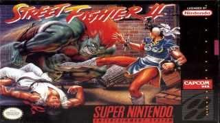 street fighter 2 ストリートファイターII SNES 1993 - spring thunder [alfh lyra arrange] VGM