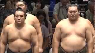 Осенний Сентябрьский турнир по сумо 2014 года, 1-3 дни Аки басё  Aki basho