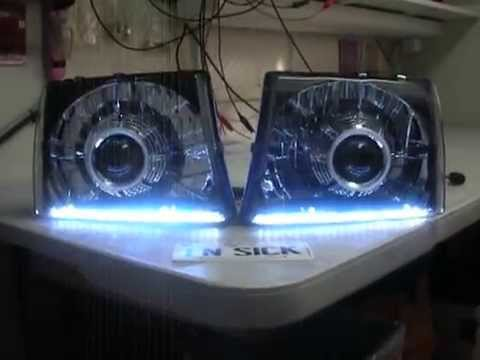 97 00 Toyota Tacoma 55w Hid Bi Xenon Projector Headlight Retro Fit By Sick Hids You
