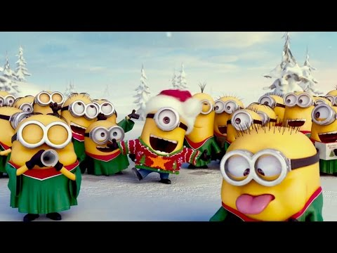 Die Minions singen Jingle Bells