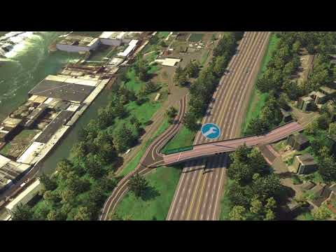 I-205 Seismic Upgrades and Widening Simulation