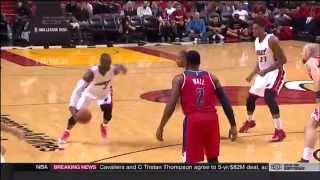 October 22, 2015 - ESPN - Preseason Game 07 Miami Heat Vs Wizards - Win (04-03)(Heat Highlights)