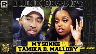 Mysonne, Tamika Mallory & Trae Tha Truth On The N-Word, Racism, Politics & More | Drink Champs