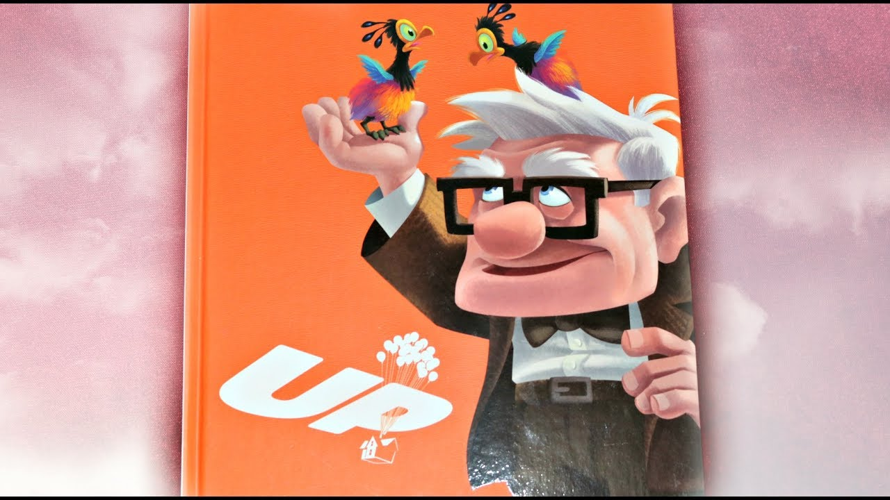 up disney pixar full story book read aloud by josiewose