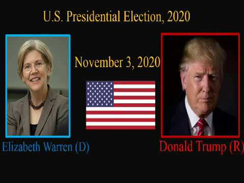 Election Night 2020- President Trump vs Elizabeth Warren