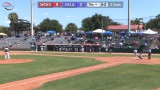 Edinburg Vela Vs San Antonio Churchill Baseball Regional Semifinals Game 2