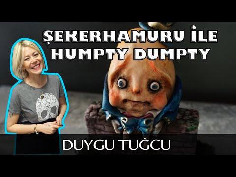 Şekerhamuru Ile Humpty Dumpty Nasıl Yapılır? (Figür Yapımı) - Chef Duygu Tugcu