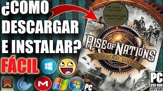 Descargar Rise of Nations Extended Edition para PC Full En Español (Fácil)