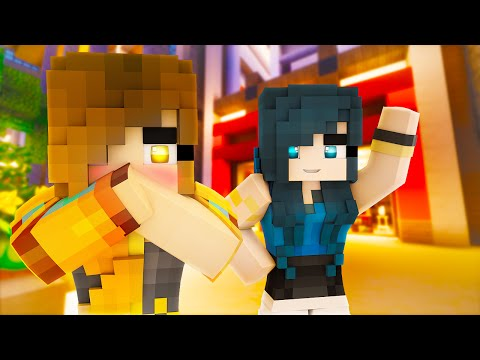 Minecraft - SECRET BLIND DATE!? (Minecraft Roleplay)