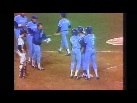 George Brett Hits 3 Run HR Off Goose Goosage In Game Of 1980 ALCS