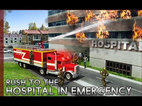 Rescue Fire Truck Simulator 3D - Simulation - Videos Games for Children  /Android HD