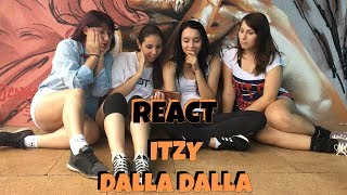 [REACT] Sunday Reaction to ITZY - DALLA DALLA (달라달라)