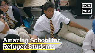 How Fugees Academy Helps Refugee Kids Learn & Adapt to American Life | NowThis