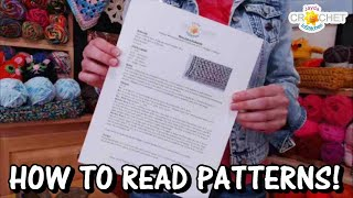 How To Read Crochet Patterns - Part 1 - InStitches Family Crochet Party 42