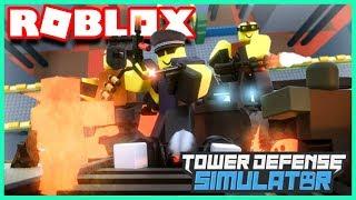 NOUVELLES MAPS, NOUVELLES TROUPES ET NOUVEAU CODE !   Roblox Tower Defense Simulator