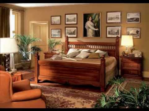 Solid wood bedroom furniture - YouTube