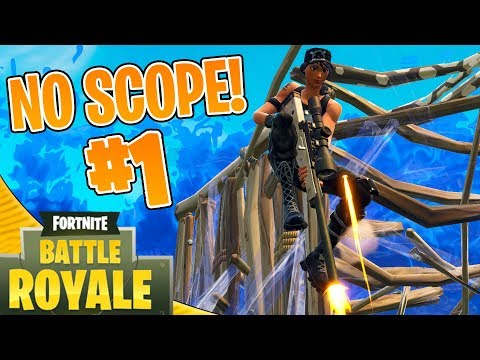 360 NO SCOPE! - Dansk Fortnite