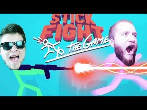ZABAWA LASERKAMI! | Stick Fight: The Game [#2] (With: Dobrodziej, Drwal, Diabeuu)