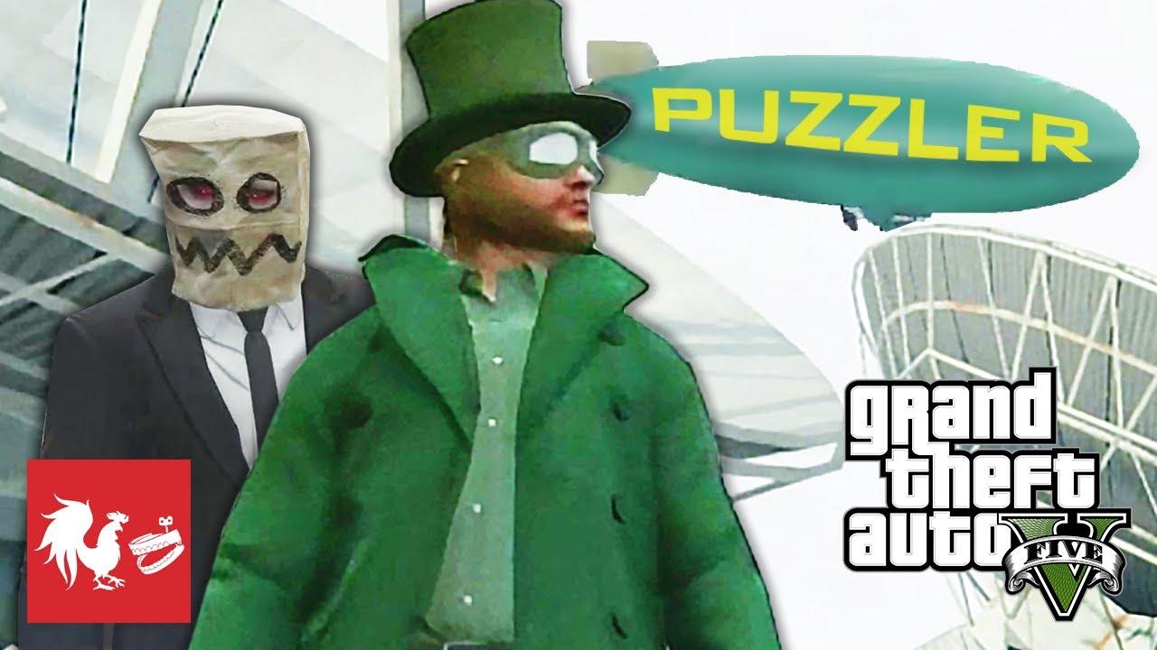 Blaine the GTA Online Super Villain - RT Extras | Rooster Teeth