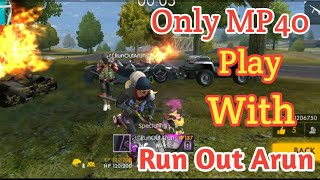 Free Fire MP 40 challenge Tricks tamil/Room match Booyah tips and tricks tamil