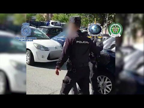 Detenido en Madrid un sicario colombiano acusado de 100 homicidios