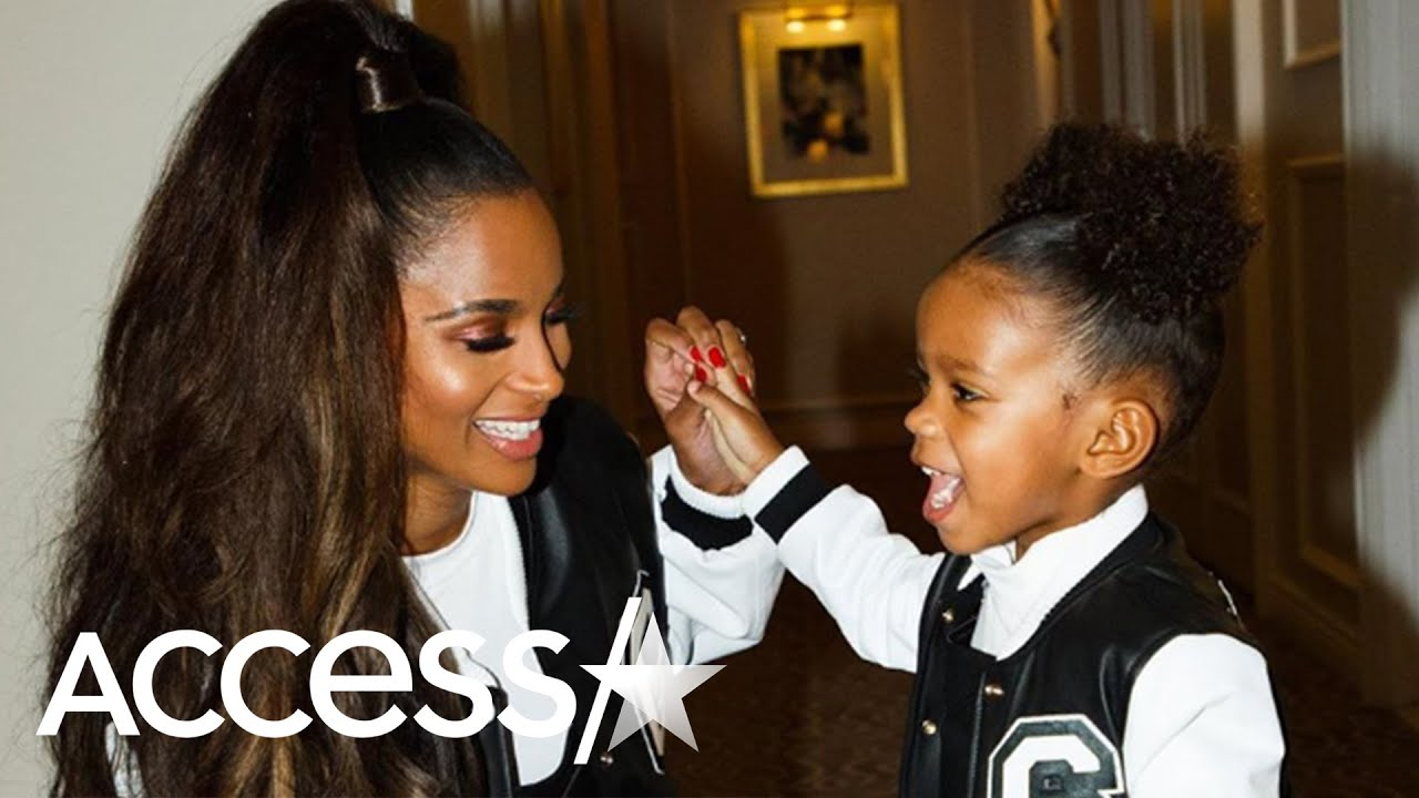 Ciara And Her Daughter Sienna Are Adorably Twinning With Matching Outfits For American Girl Party