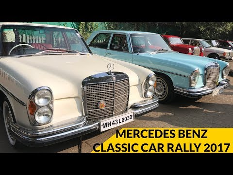 Mercedes Benz Classic Car Rally 2017 Mumbai