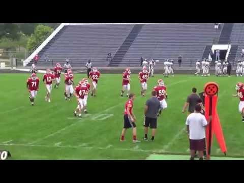 austin and point after Elkhart Memorial High School vs Elkhart Central jv  8/23/2014
