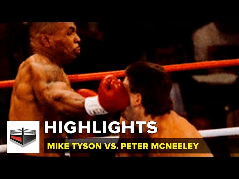 Mike Tyson vs Peter McNeeley