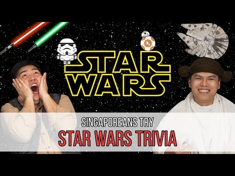 Singaporeans Try: Star Wars Trivia