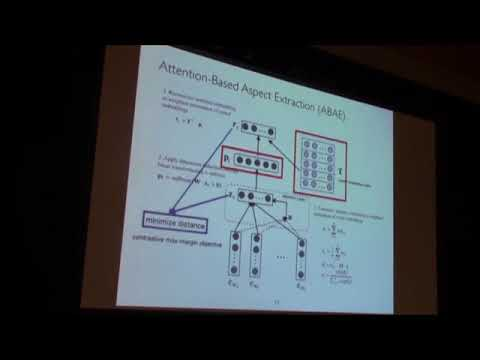 An Unsupervised Neural Attention Model for Aspect Extraction   ACL 2017