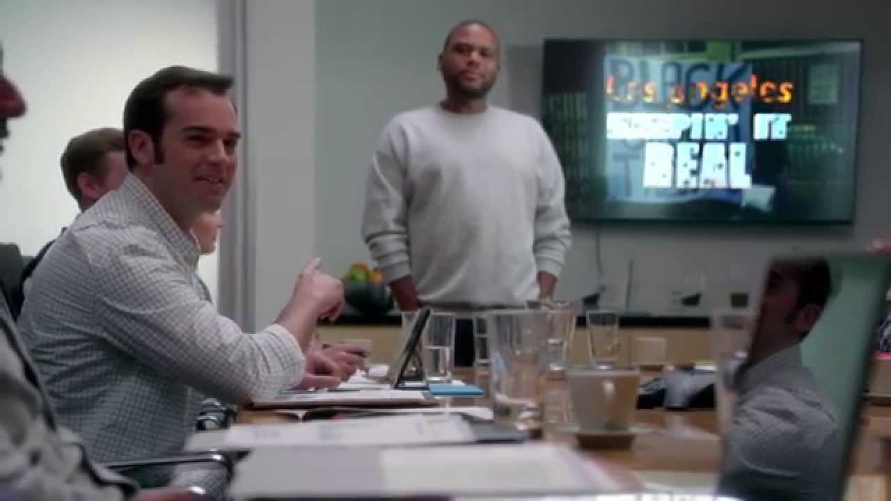 """Download Funny Blackish clip - Dre's """"Keepin' it Real"""" urban pitch - Episode 1"""