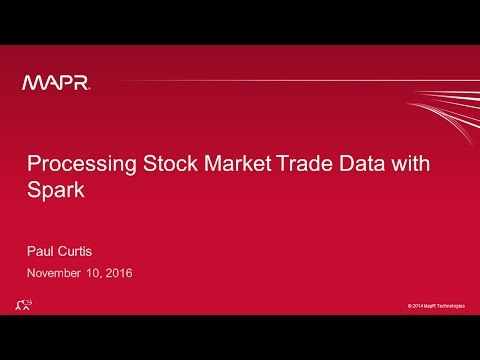 Streaming Stock Market Data With Apache Spark And Kafka