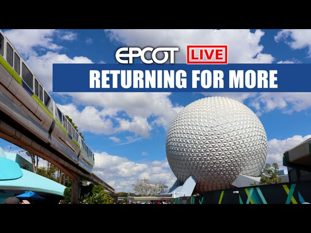 🟢LIVE: Epcot Returning With My Daughter World Showcase Future World Walt Disney World Live Stream