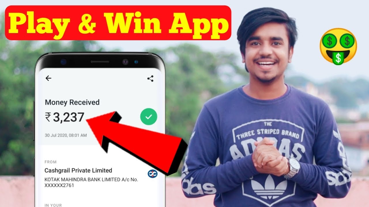 Play & Win App - 2020 New Gaming Earning App ||  Minimum Redeem Only ₹1 /-  || Google Tricks