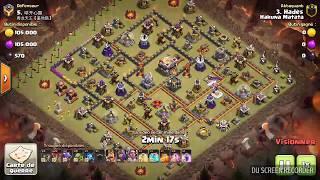 GDC Perfect HDV11 vs HDV11 / lavaloon + baby dragon Clash of clans