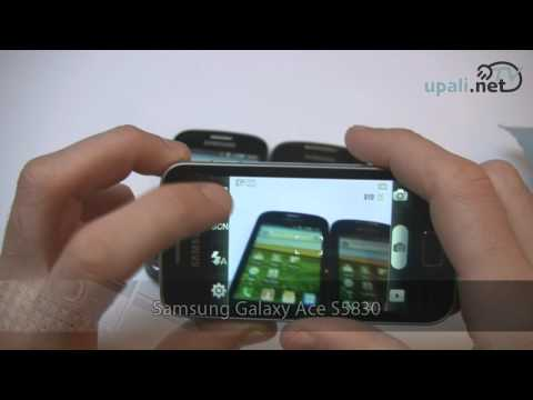 Samsung Galaxy Ace S5830 video test. Preview Galaxy Fit S5670 i Galaxy Mini S5570
