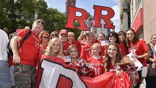Rutgers Fans Cheer On Carli Lloyd at NYC Parade