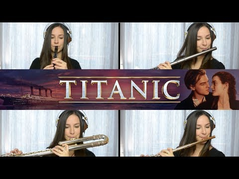 Titanic Theme Song - My Heart Will Go On - Flute Cover