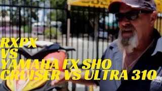 RXPX vs Yamaha FX SHO Cruiser  vs Ultra 310 | Caloundra Marine Sea Doo Dealer