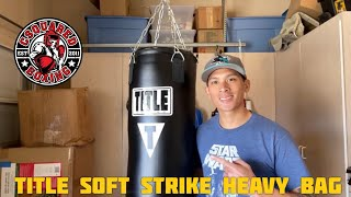 Title Boxing Soft Strike Heavy Bag REVIEW- THE BEST HEAVY BAG UNDER 150