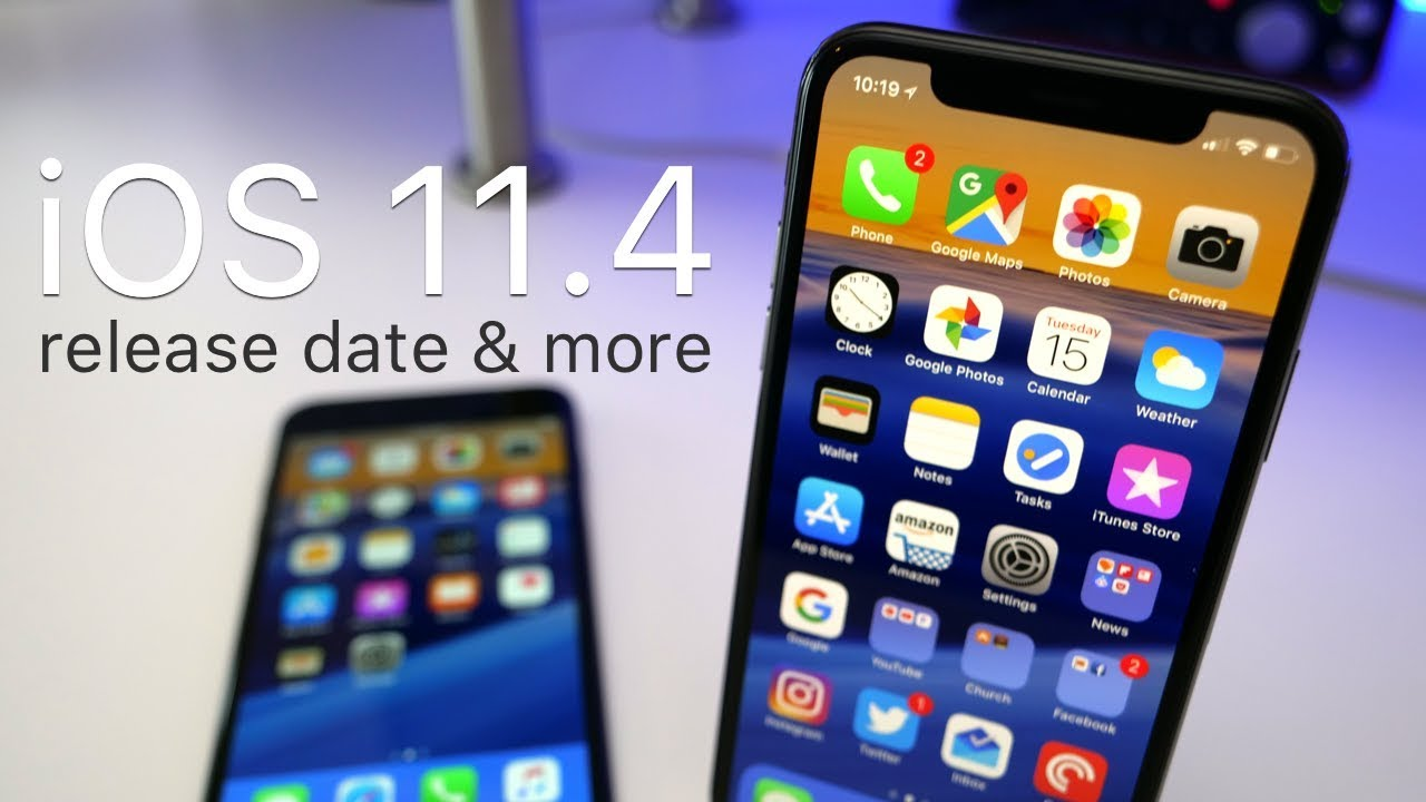 iOS 11.4 Release Date & More - YouTube