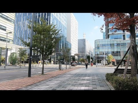 Seoul Sangam-dong Digital Media Center [서울 상암동 디지털미디어센터] - Walking Street Trip
