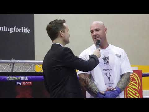 'I EXPECT TO HAVE MORE FANS HERE THEN IN CHECHNYA' - LUCAS BROWNE IMMEDIATE WORKOUT REACTION
