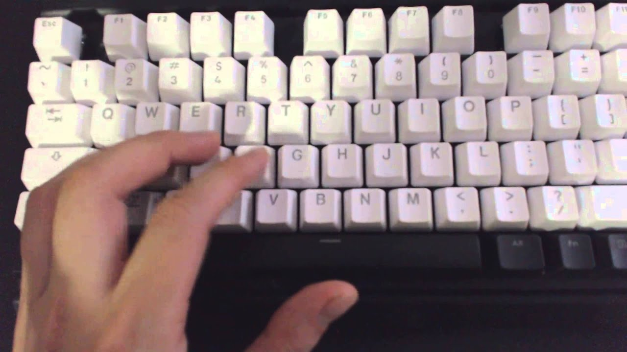 54c6bea26ad Mod your keyboard! Corsair K65 mod with Vortex White Translucent ...