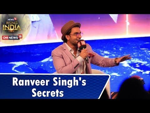 Ranveer Singh Shares Some Interesting Details About His Career   18RisingIndia Summit
