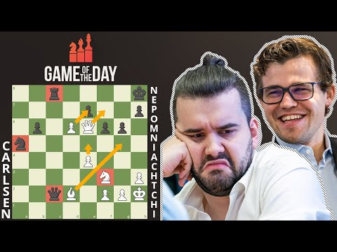 Carlsen's EXPLOSIVE Bishop Exchange!!! || Legends Of Chess 2020