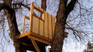 How To Build A Treehouse | 20 Wranglerstar