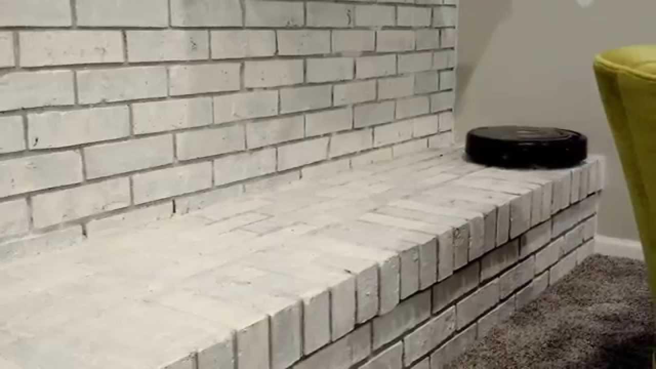 irobot roomba 500 series cleans brick fireplace ledge youtube
