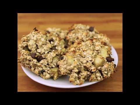 recette-minceur-:-cookie-banane/chocolat